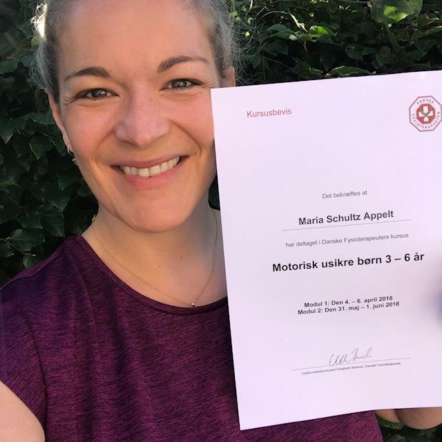 Maria Schultz Appelt, børnefysioterapeut